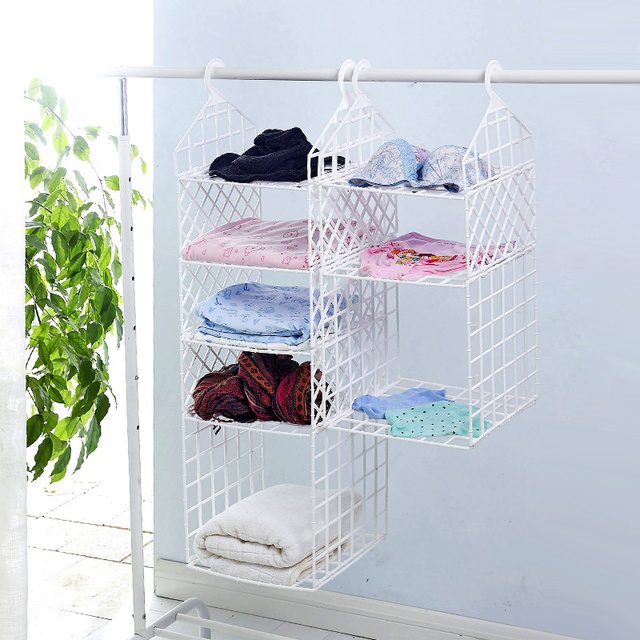 diy folding cabinet shelf plastic shelves quarters wardrobe hanging rh aliexpress com DIY Dollar Store Rope Basket Put Small Space Bathroom Ideas Shelves