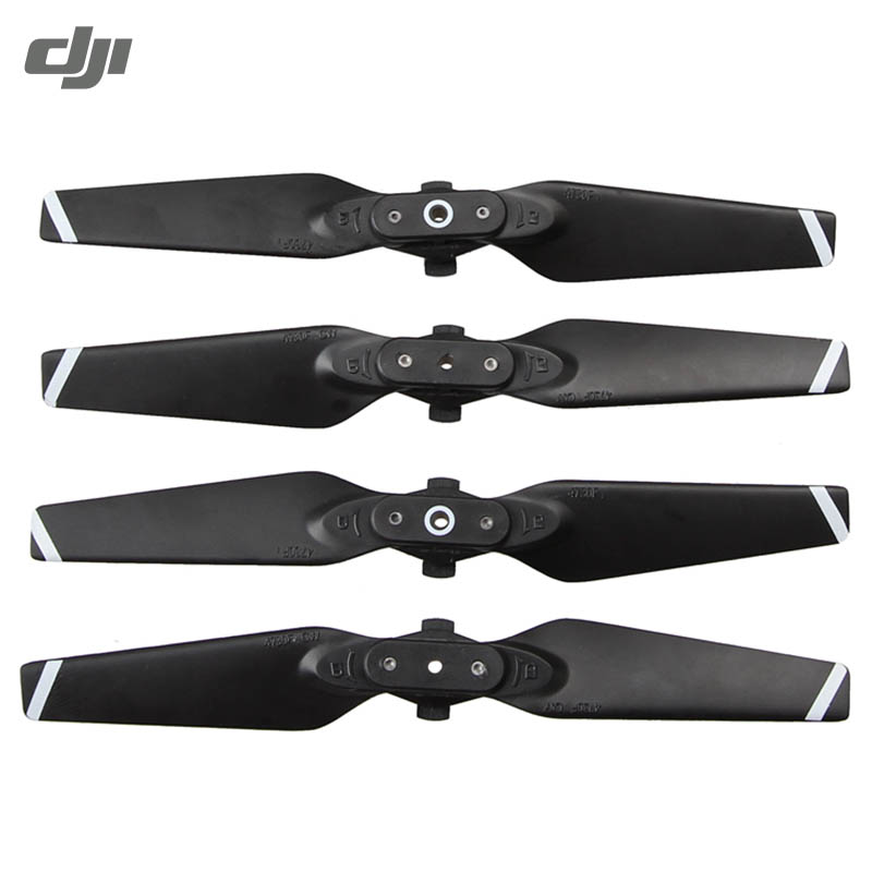 DJI SPARK RC Quadcopter Spare Parts FPV Racing Drone Black 2 Pairs ABS+PC Foldable CCW CW Single Blade Propeller cheerson cx 22 cx22 rc quadcopter spare parts propeller prop blade cw