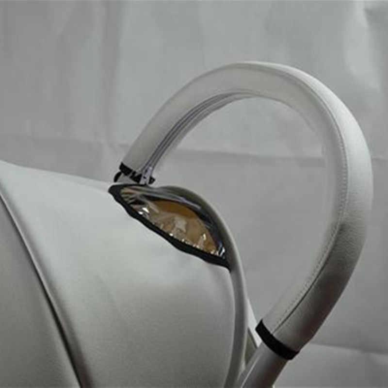 Akcesoria do wózka dla dziecka akcesoria do wózka dziecinnego pokrowce na babyzen yoyo yoya wózek podłokietnik etui ochronne ze skóry Pu uchwyt wózki inwalidzkie