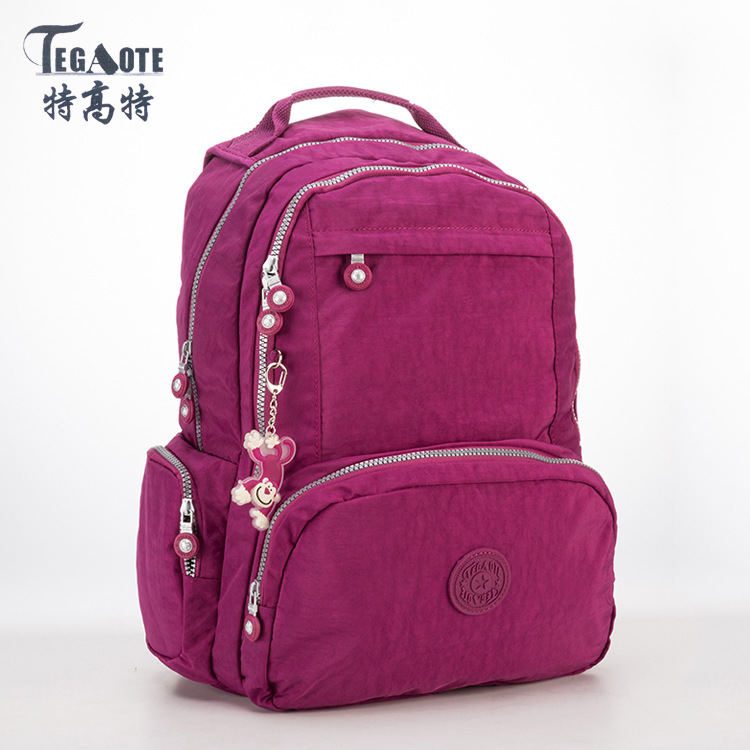 TEGAOTE Backpack Women Fashion Schoolbag Backpacks for Teenage Girls Mochila Feminina Escolar Travel Backpack Female Sac A Dos women backpack mochila backpack for travel sac a dos korean style backpacks for teenage girls high quality bag gift for new year