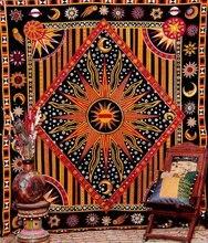 CAMMITEVER Apolo Индийских Вс Стене Висит Гобелен Бросить Чешские Занавес Индийской Декоративные Геометрическая Одеяло