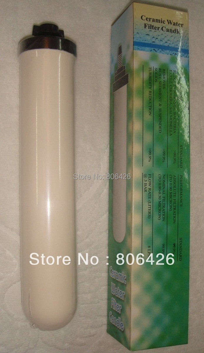 0 5 Micron Filter Ceramic Water Filter Candle With