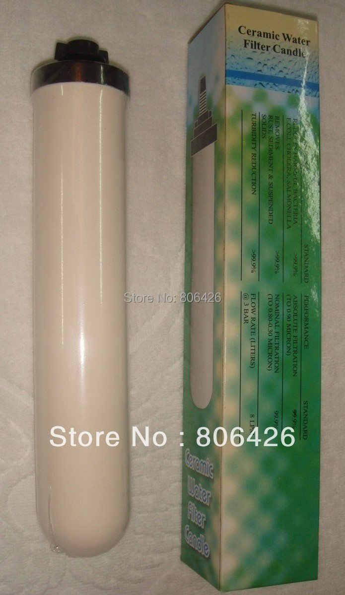 0,5 микрон керамический фильтр/кран Керамическая свеча фильтра для воды с комбинированным Карбоновым блоком материал кухня свеча фильтра для воды