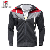 2017 Hoodies Men Sudaderas Hombre Hip Hop Mens Brand Letter Hooded Zipper Fight Color Hoodie Sweatshirt
