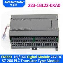 EM223 AMX 223 1BL22 0XA0 16I/16O תואם S7 200 PLC הדיגיטלי מודול 6ES7 223 1BL22 0XA0 טרנזיסטור סוג
