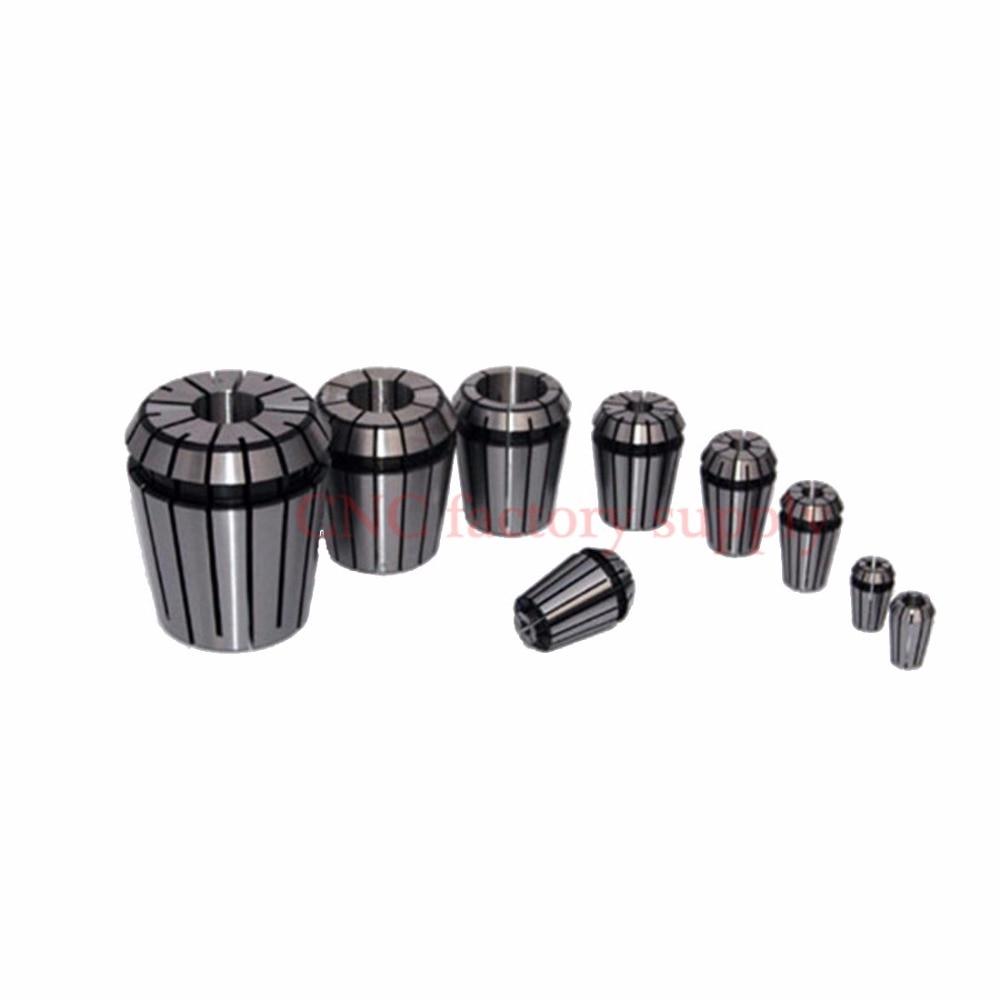 16pcs/lot ER25 collet set ER25 1-16mm Spring Collet Bit Chucks Tool Holder For CNC Engraving Machine&Milling Lathe spindle motor
