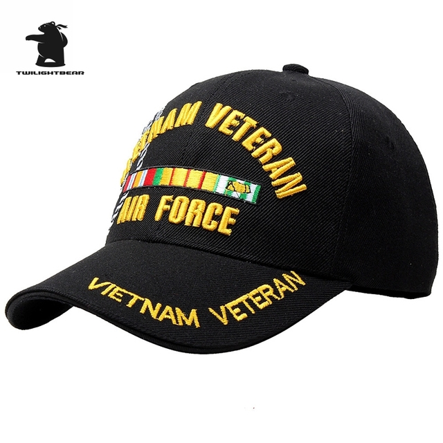 a6c08031bdf05 Wholesale Navy Vietnam War Veteran Baseball Cap High Quality Embroidery  Adjustable Casual Baseball Cap For Men And Women AE6