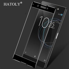2PCS Full Glass For Sony Xperia XA1 Tempered Glass For Sony Xperia XA1 Screen Protective For Sony XA1 G3112 Vidrio Templado цена в Москве и Питере