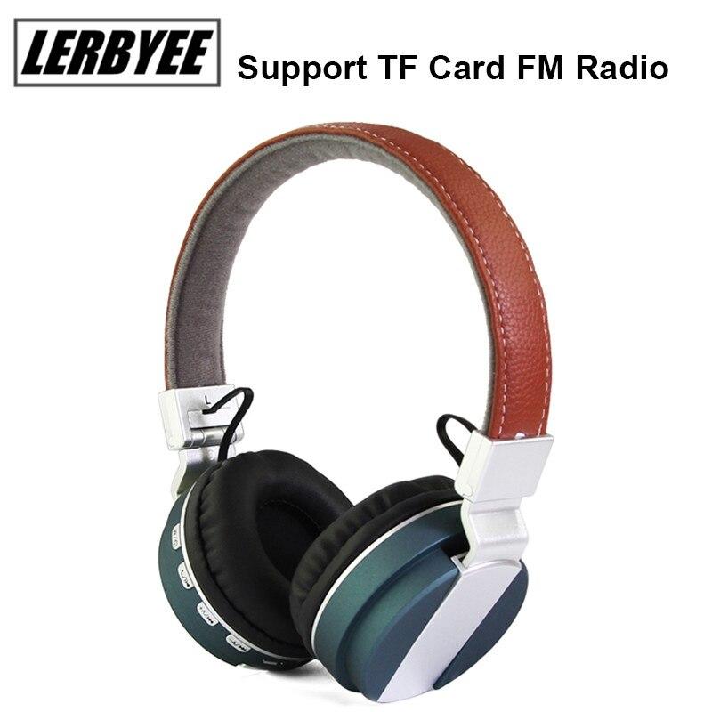 LONGET Foldable Headphone wireless Bluetooth 4.0 Built-in Mic Soft Earmuffs Noise Cancelling Stereo sound wireless headset