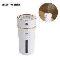 400ML Anion Humidifier Mist Maker With Night Light Aromatherapy Diffuser Aroma Essential Oil Air Freshener Humidifiers