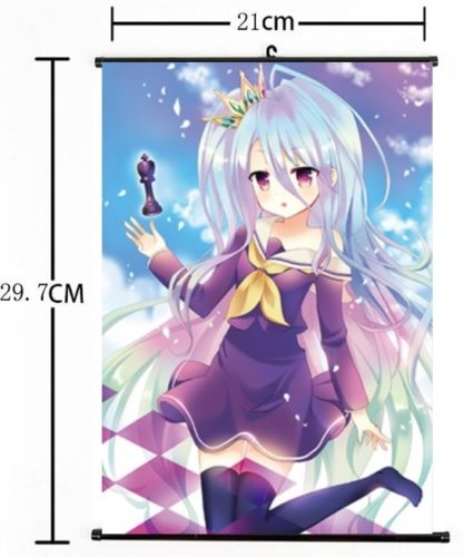 No Game No Life Art Japan Anime 60*90cm Wall Scroll Poster
