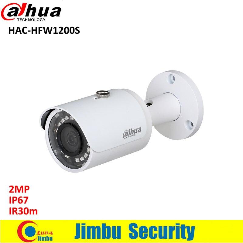 Dahua 2MP HDCVI camera HAC-HFW1200S Bullet Camera lens 3.6mm IR LEDs length 30m CCTV 1080P Water-proof IP67 mini security camera