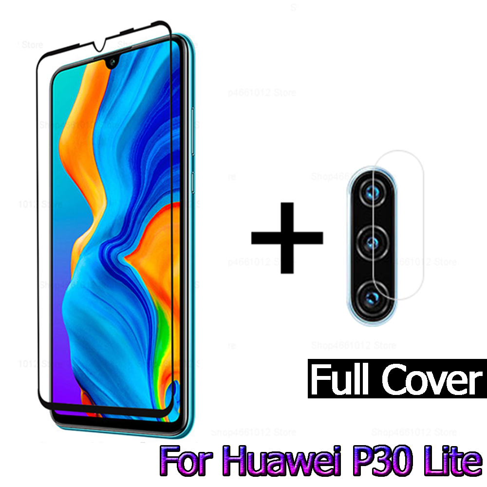 For Huawei P30 Lite Camera Lens Protector For Huawei P30 Lite Tempered Glas Screen Protector On Huawai P 30 Lite 30lite P30lite