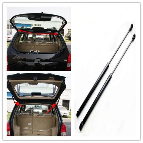 2 piezas de vidrio trasero la puerta trasera Auto Gas resorte puntales elevador admite varillas para Hyundai Tucson 2005 2006, 2007-2010, 2012