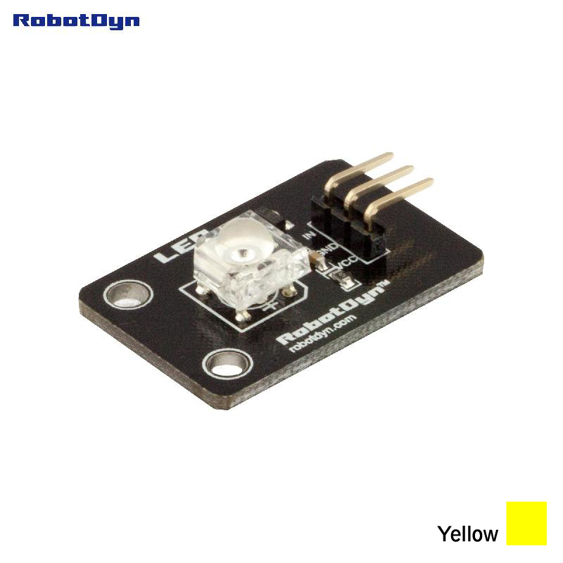 Super-bright Color Piranha LED Module  (YELLOW)