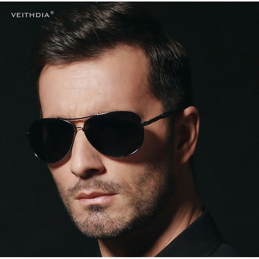 ce89be4890 VEITHDIA Aviator Polarized Men s sunglasses Brand Driving Eyewear  Accessories Sun Glasses Men women UV400 3088-in Sunglasses from Apparel  Accessories on ...