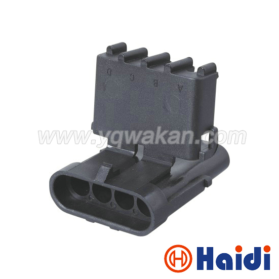 Free shipping 5sets 4pin delphi auto 2.5mm wiring plug electrical waterproof cable harness connector 12010974 title=