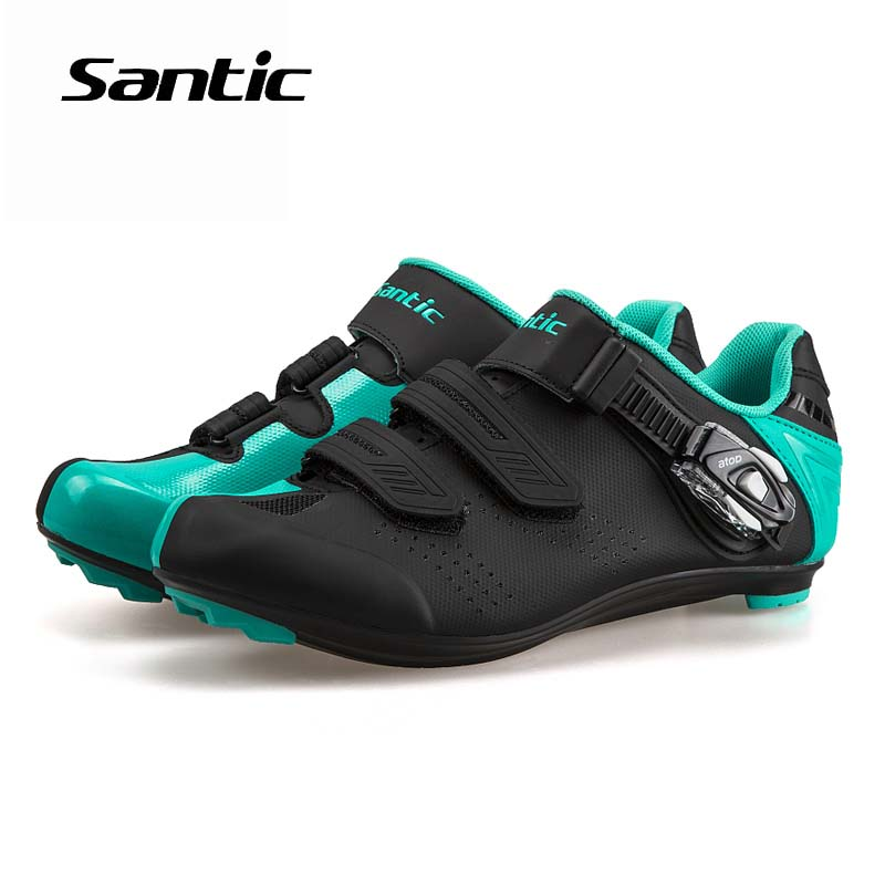 Santic Ultralight Cycling Shoes Unisex TPU Bicycle Road Locking Shoes Sneakers Sapatilha Ciclismo 2018 Pro Team Road Bike Shoes santic road cycling shoes ultralight carbon fiber pro bike road shoes self locking athletic bicycle shoes sapatilha ciclismo