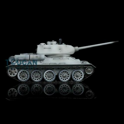 2.4G Henglong 1/16 Snow 6.0 Plastic Ver Soviet <font><b>T34</b></font>-85 RTR RC <font><b>Tank</b></font> <font><b>Model</b></font> 3909 TH12918 image