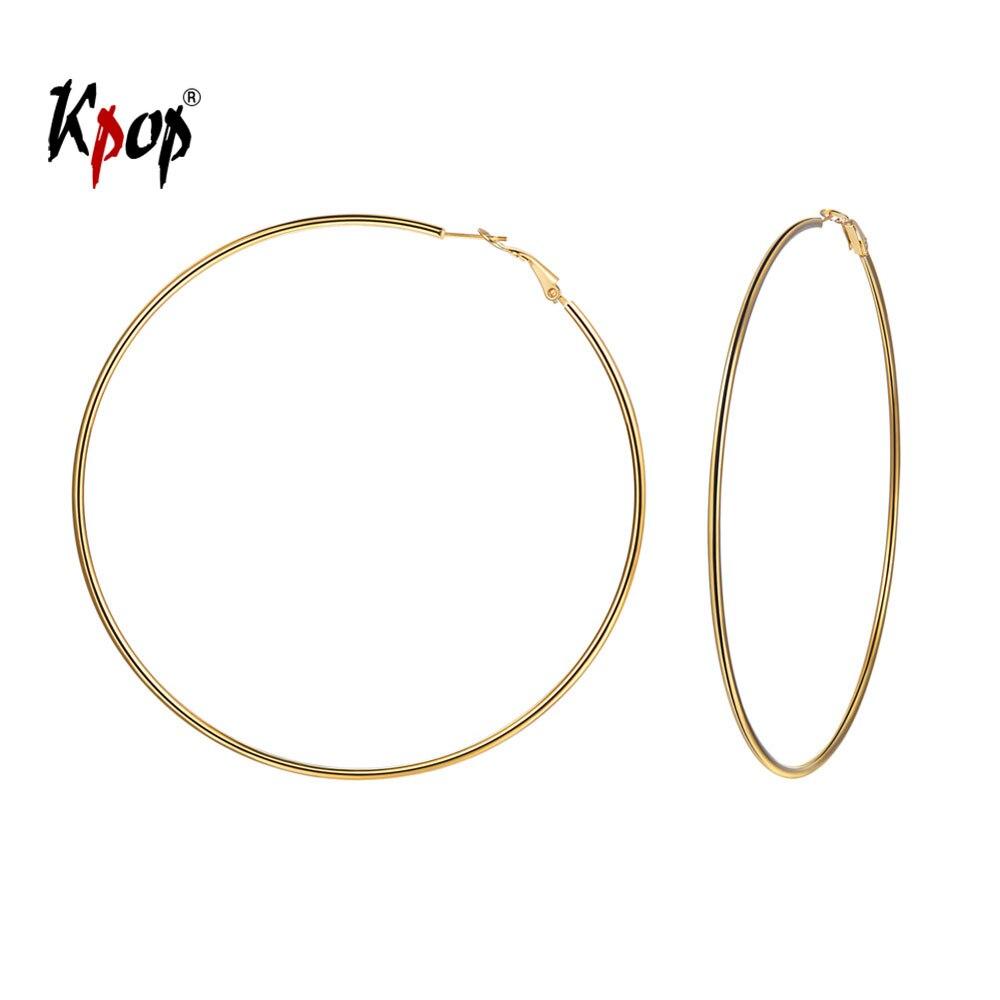 Kpop Hoop Earrings Punk Jewelry