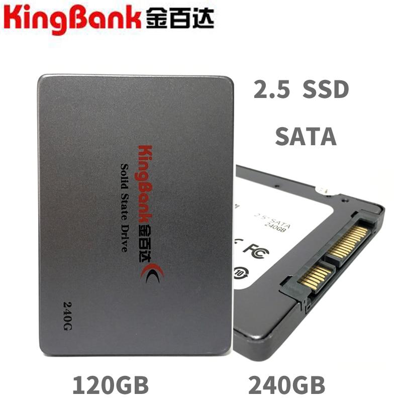 KingBank KP-310 120 gb 120g 240 gb 240g 2.5 SATA3 Servidor SSD PC Desktop Portátil 2.5 Sólido Interno dribe estado SSD