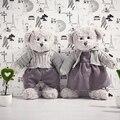 35CM/14'' Kawaii Teddy Bears Stuffed Plush Toy Boy And Girl Cute Dress Teddy-Bear Bear Ted Bears Plush Toys Wedding Gifts 00101