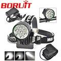 Hot SALE 14000 Lumen 7* XM-L T6 LED Lanterna Bike front Light LED Headlamp Head Light for Bicycle + 8.4V 6400mah & Charger