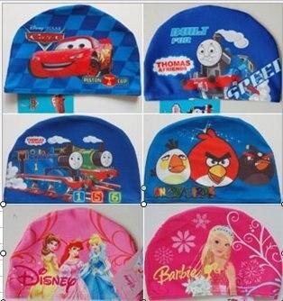 Free Shipping 20pcs/lot Children Swimming Cap Swimming Hats swimming wear baby hat   10  design