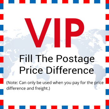 Extra Postage / Price Difference