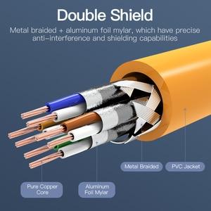 Image 2 - Vention Ethernet כבל RJ45 חתול 6a Lan כבל UTP RJ 45 רשת כבל עבור Cat6 תואם תיקון עבור מודם נתב כבל 1m 5m