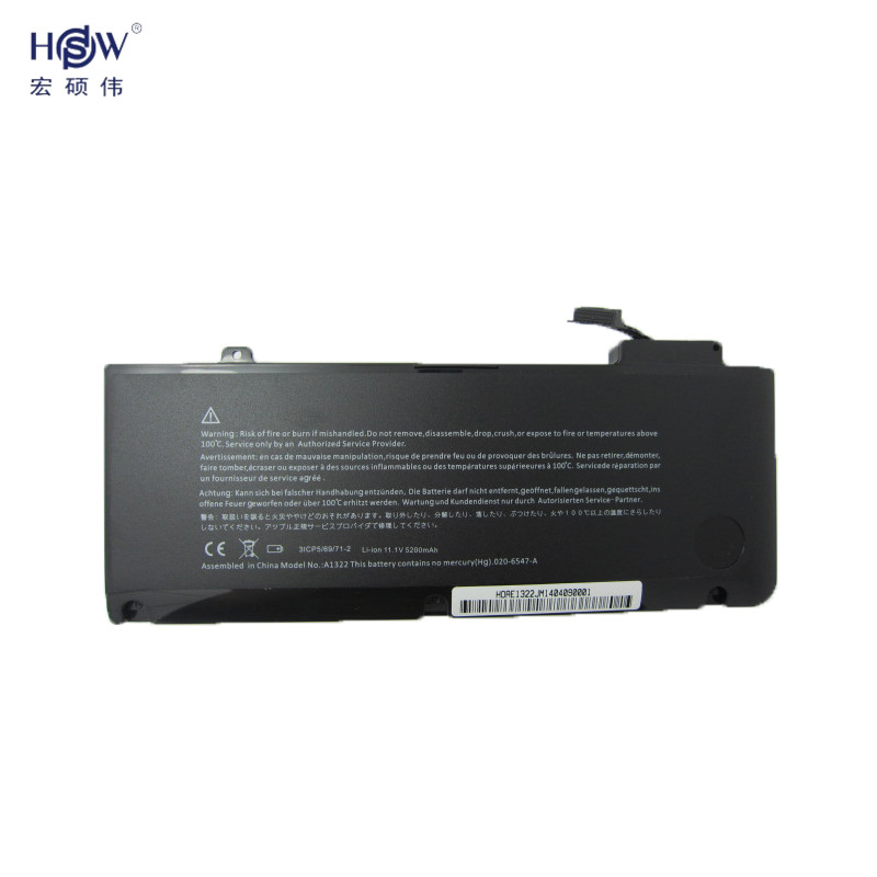 Подробнее о notebook laptop battery for APPLE A1278 (Mid 2009 Mid 2010 Early 2011) MB991LL/A MC374LL/A MC375LL/A A1322 bateria akku laptop battery for apple for macbook pro 17 a1297 a1309 for early 2009 for mid 2009 for mid 2010