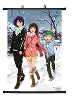 Hot Japan Anime Noragami Yato Yukine Cosplay Home Decor Poster Wall Scroll C