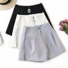 Летние шорты женские брюки с высокой талией офисный женский узкий Короткие штаны винтажные горячие сексуальные трусы