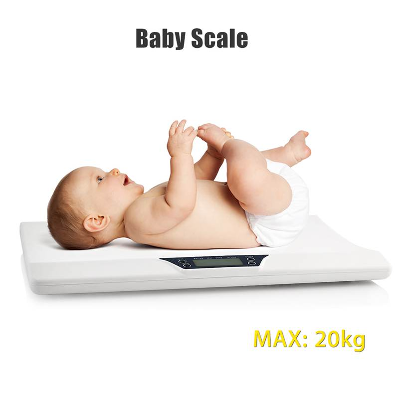 Newborn Baby Pets Infant Scale Abs Lcd Display Weight Toddler Grow Electronic Meter Digital Professional Up To 20Kg