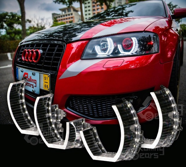 Audi A3 8p Custom Headlights