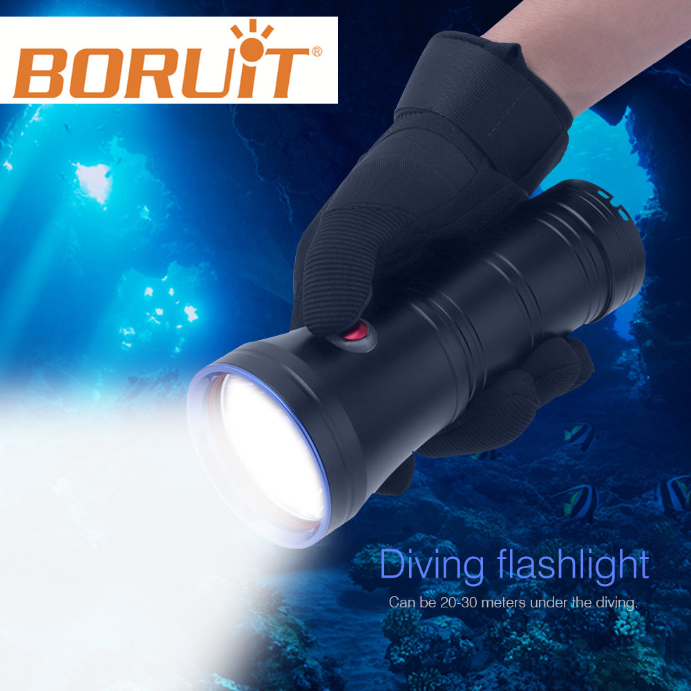 Professional Scuba Diving Flashlight Powerful XML-L2 LED Torch Lamp Underwater Lantern Submarine Light Equipment For Spearfishi лодка надувная лидер 430 зеленая