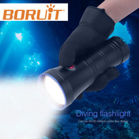 Professional Scuba Diving Flashlight Powerful XML L2 LED Torch Lamp Underwater Lantern Submarine Light Equipment For Spearfishi