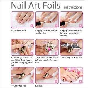 Image 5 - 1 Bottle Nail Art Transfer Foils Nail Sticker Tip Decal Decoration Design DIY Butterfly Plum Flower Manicure Tools