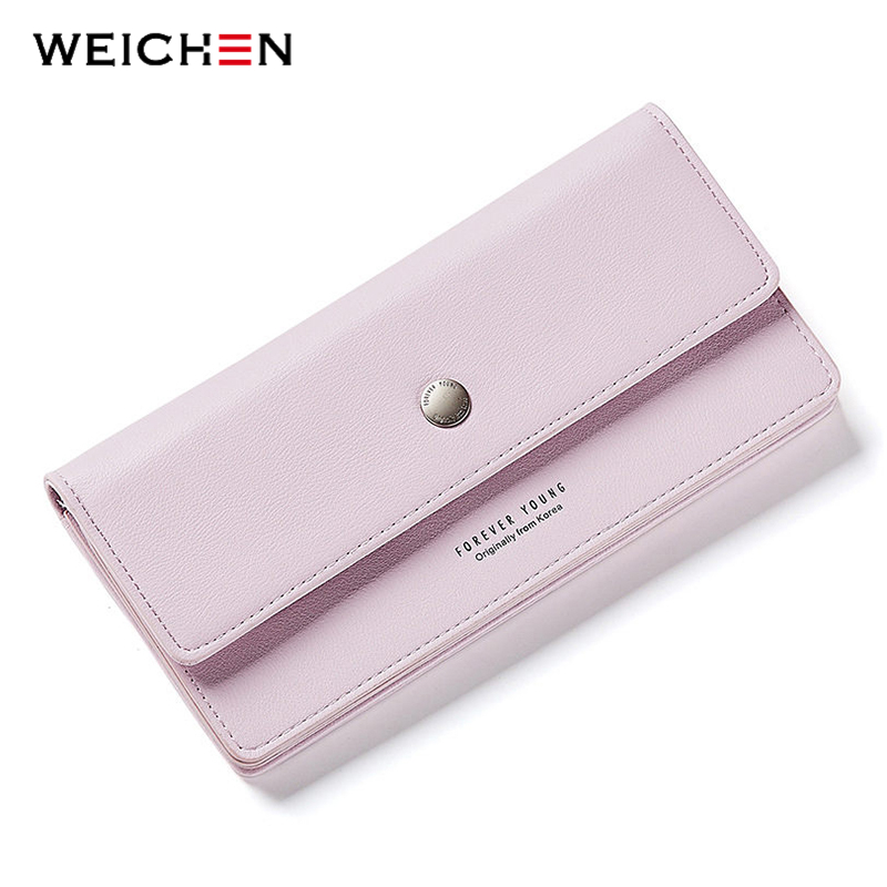 2018 New Came Female Long Standard Wallet PU Leather Women Clutch Wallets Coin Change Phone Purse Cash Card Holder Lady Carteras large capacity women wallet leather card coin holder money clip long clutch phone wristlet trifold zipper cash female purse