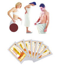 цена на 10 pcs  Slimming Navel Stick Slim Patch Weight Loss Burning Fat Patch ( 1 bag =10 pcs )