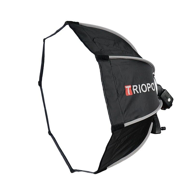 TRIOPO 65 cm boîte souple pliable octogone avec poignée pour Godox Yongnuo Speedlite Flash lumière photographie studio accessoires - 3