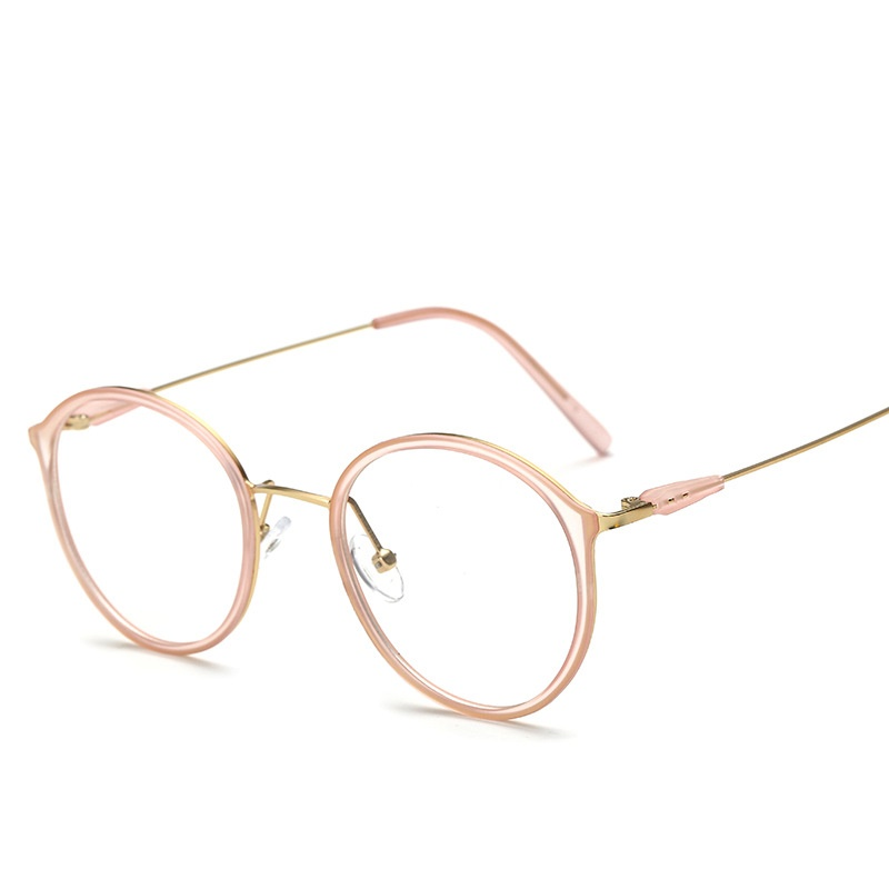 SOLO TU Mode Trend TR90 Metall Runde Brillen Rahmen Licht Cosy ...