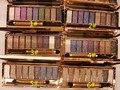 9 cores brilhantes diamante naked maquiagem smoky eyeshadow palette maquiagem set sombra maquillage cosméticos professional com escova