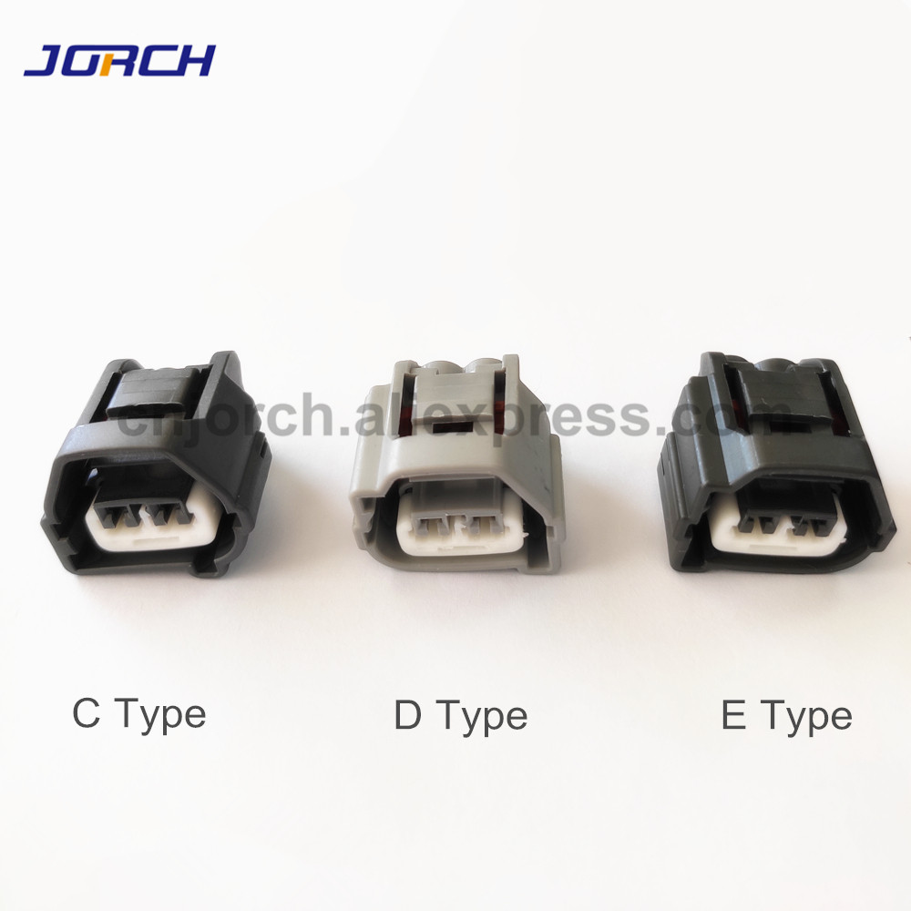 5sets 2 Pin Toyota Auto Female Waterproof Connector Plastic Wire Harness Housing Plug 90980-10899 90980-10901 7283-7023-10