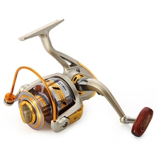 High Quality EF1000-7000 Spinning Fishing Reels Fly Wheel 10BB 5.2:1 Metal Spinning Fishing Reels Fishing Accessories Tool