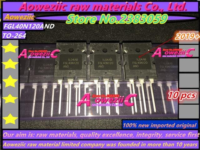 Aoweziic 2019 + % 100 yeni ithal orijinal FGL40N120AND FGL40N120 TO 264 triyot IGBT tüp 40A 1200 V