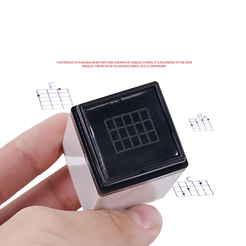 Guitar Chords Stamp 3 4 Fret Seal Learning Practice Accessories For Acoustic Classical Electric Guitars Ukulele Universal Chord
