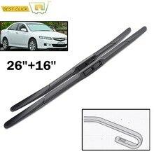 Misima pára-brisas lâminas de limpador para honda accord 7th geração europa japão modelo 26