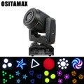 60 Вт LED DMX gobo Moving Head Spot Light с 3-гранной призмой focus Club DJ сценическое Освещение DJ Party Disco Moving heads Light