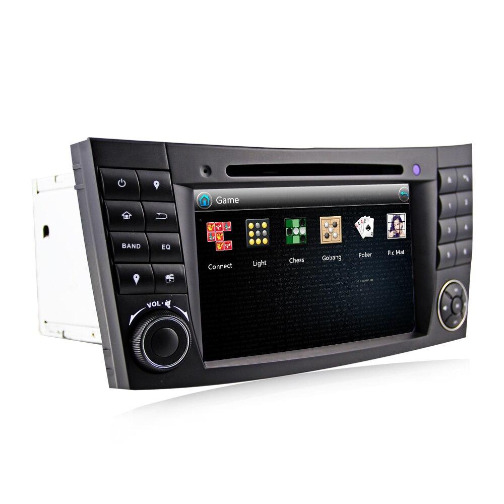 Image 2 - Eunavi 2 Din Car DVD Radio Player GPS navigation for Mercedes/Benz W211 W219 W463 CLS350 CLS500 CLS55 E200 E220 E240 E270 E280Car Multimedia Player   -